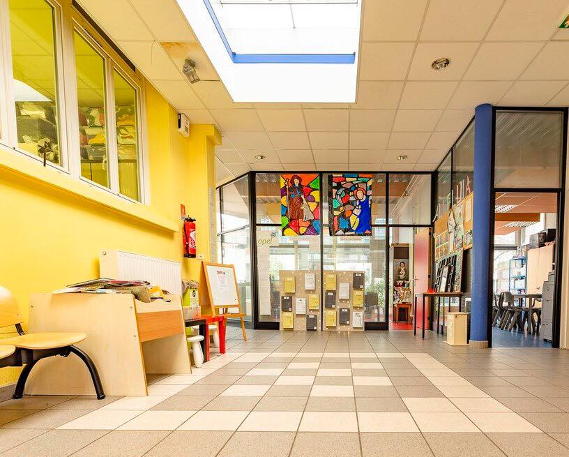 Ecole Saint Roch - Le hall